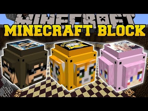 Thumbnail: Minecraft: YOUTUBE LUCKY BLOCK (STAMPYLONGHEAD, SSUNDEE, & LDSHADOWLADY!) Mod Showcase