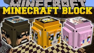 Minecraft: YOUTUBE LUCKY BLOCK (STAMPYLONGHEAD, SSUNDEE, & LDSHADOWLADY!) Mod Showcase
