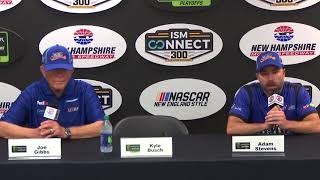 No. 18 crew chief Adam Stevens says pit crew switch 'good call' thumbnail