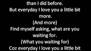 JLS - love you more, with lyrics