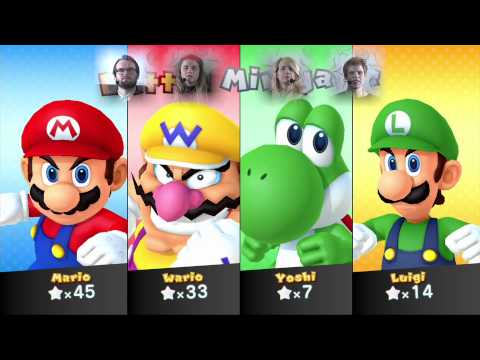 Spelkväll S1E10: Mario Party 10 med Adelie, Danne, Evelin och Stéphane!