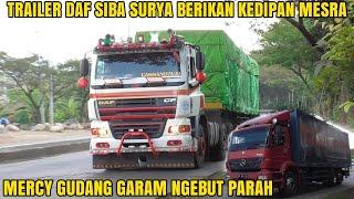 Trailer Isuzu Giga Truk Tronton Wingbox Trailer Hino Nissan Diesel Truk Mercy Trailer DAF Siba Surya