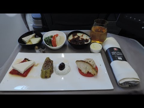 Turkish Airlines Business Class, Tallinn-Istanbul