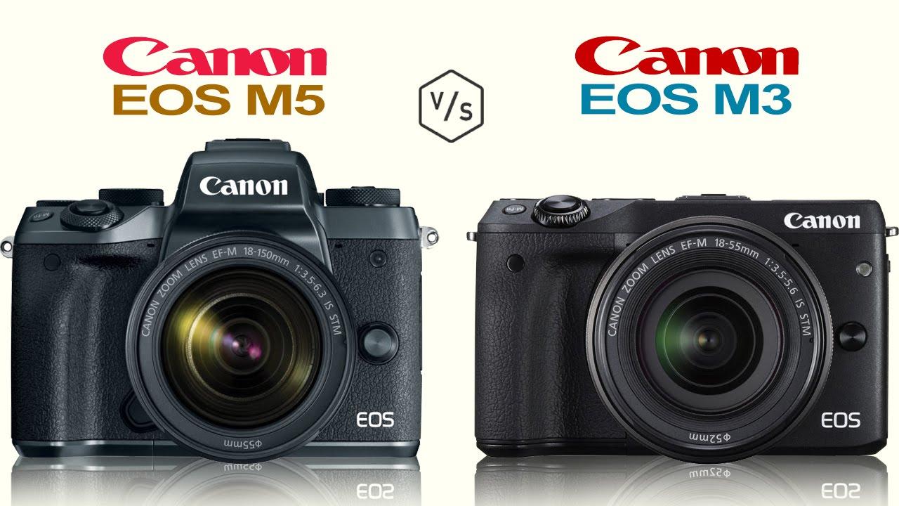 canon eos m5 vs canon eos m3 youtube. Black Bedroom Furniture Sets. Home Design Ideas