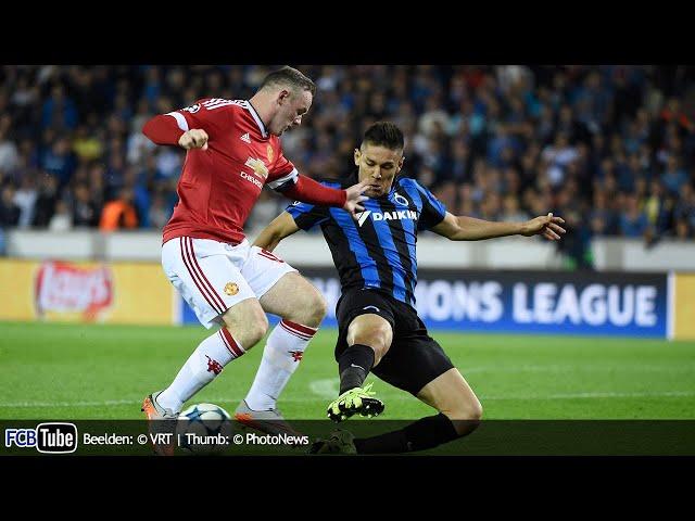 2015-2016 - Champions League - 04. 3de Voorronde - Club Brugge - Manchester United 0-4
