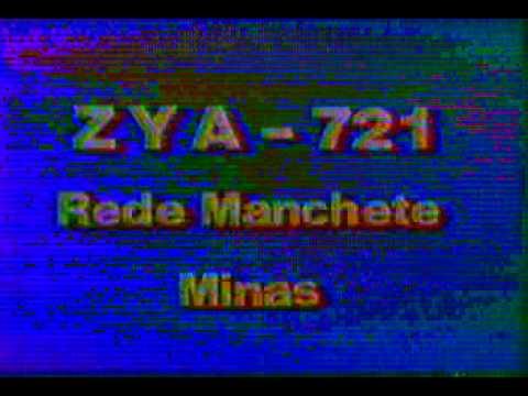 Prefixo Rede Manchete Minas