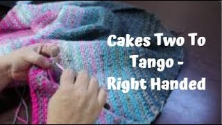 Tutorial #1 Cakes Two To Tango- Right Handed #FroggyDayCrochet