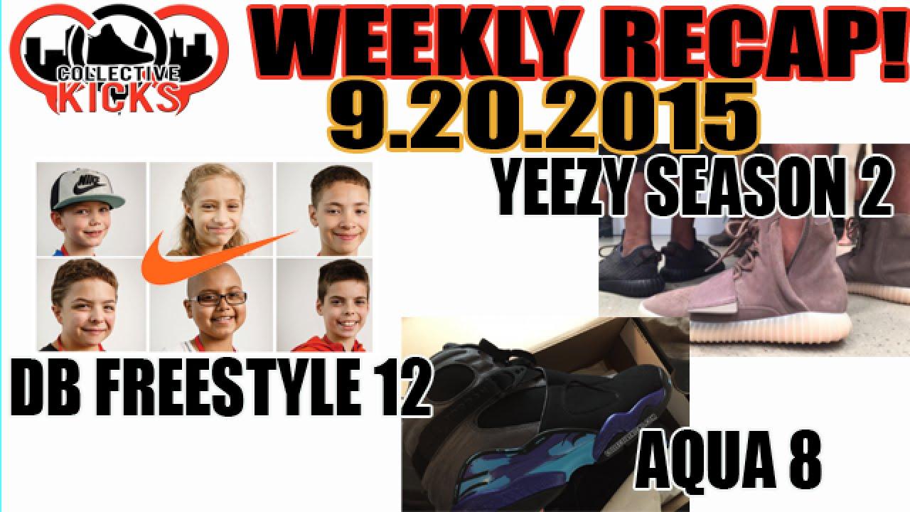 2015 Air Jordan 8 Yeezy Aqua Db X Nike Yeezy 8 Freestyle 12 De La Temporada 2 6477a6