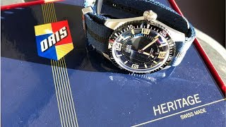 Unboxing A Stunning Heritage Dive Watch From Oris
