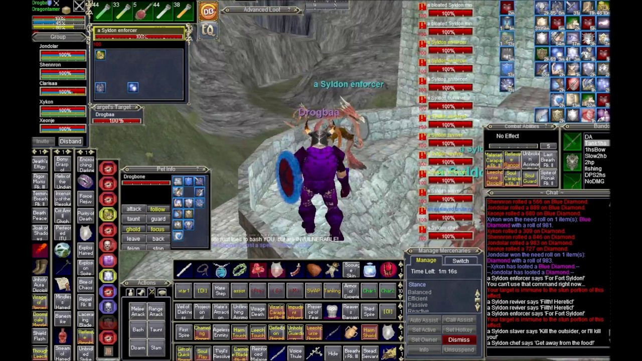 Everquest | EoK | How to burn lesson in EoK: 250-300+ AA