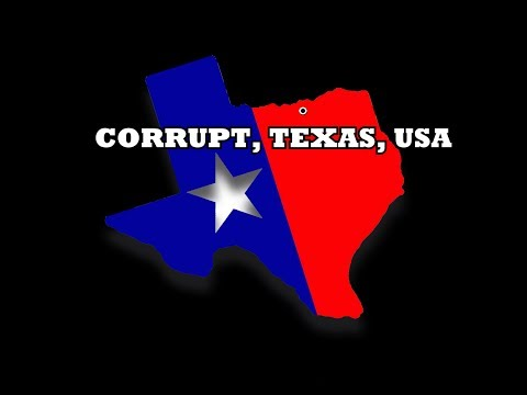 Corrupt Texas USA - Lewisville - Denton County
