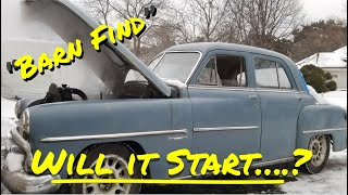 1952 Dodge Barn Find First Start - Vice Grip Garage EP16