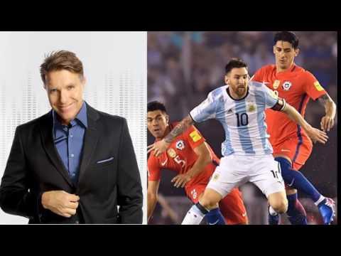"""Fantino 910 """"Ya lo dije: Somos cada vez peores"""" post Argentina 1 Chile 0 - 24 de Marzo 2017"""