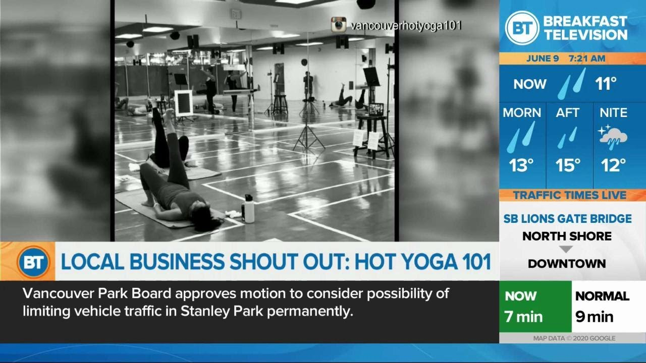 Operation Support Local Hot Yoga 101 Youtube