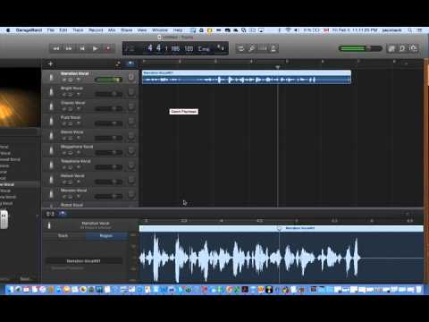 Narration with the latest version of garageband youtube - Latest version of garage band ...