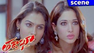 Naga Chaitanya Forced Sunil to Marry Andrea Jeremiah - Tadakha Movie Scenes