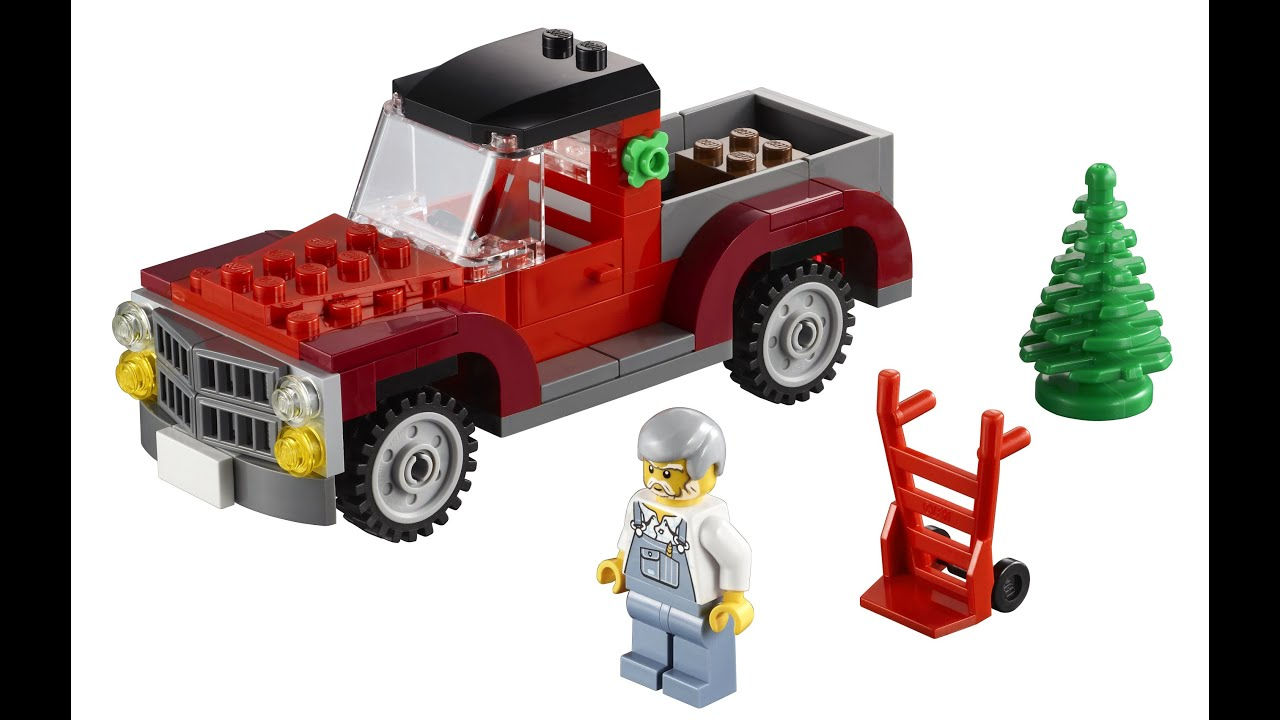 how to build a lego pickup truck youtube. Black Bedroom Furniture Sets. Home Design Ideas