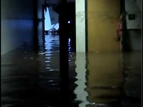 Oshkosh Lourdes High School Flood