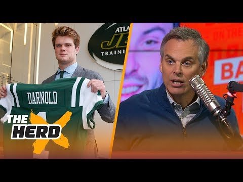 Colin Cowherd reacts to the QB selections in the 2018 NFL Draft  NFL  THE HERD