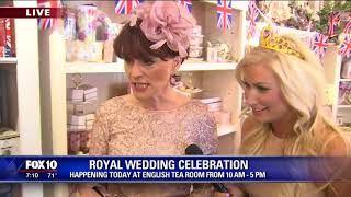 English Tea Room hosts Royal Wedding party