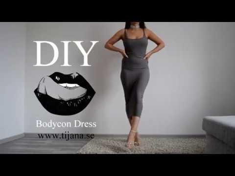 DIY Bodycon dress | Tijana Arsenijevic