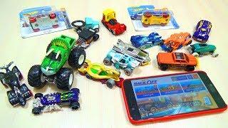 ПОРІВНЮЮ Іграшки Машинки Хот Вілс з ТАЧКАМИ з ГРИ Хот Вілс Рейс Офф / нова колекція машин