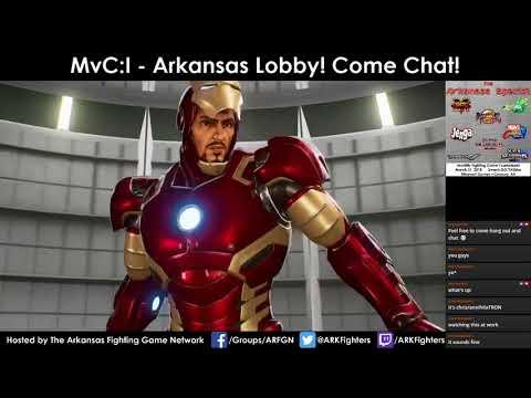 Arkansas Marvel vs. Capcom: Infinite Online Lobby
