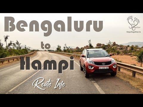 Bangalore To Hampi On Tata Nexon | Hampi Tourism E1 | Karnataka Tourism | Steps Together