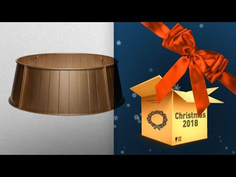 Top 10 Gold Christmas Tree Skirts / Countdown To Christmas 2018! | Christmas 2018 Guide