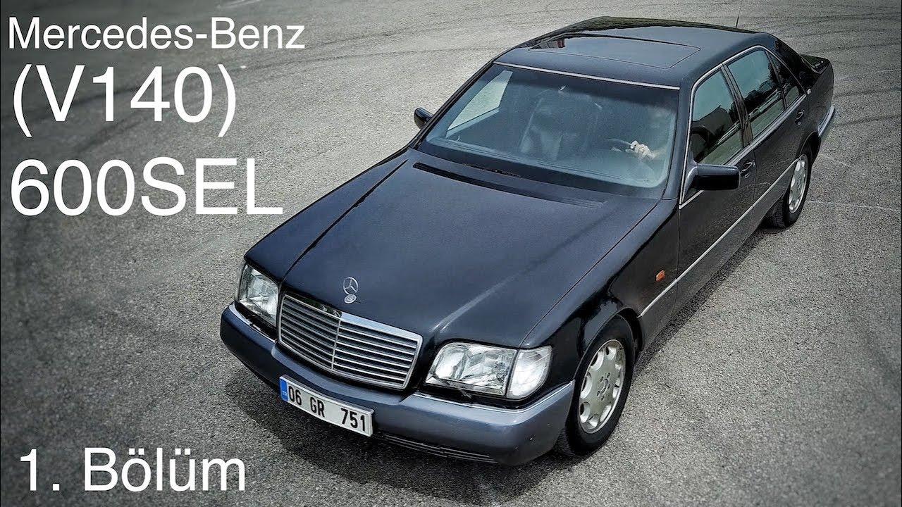 Mercedes Benz V140 600sel Test Review Part 1 Youtube