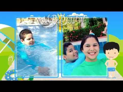 Convite digital pool party festa na piscina menino moreno for Party in piscina