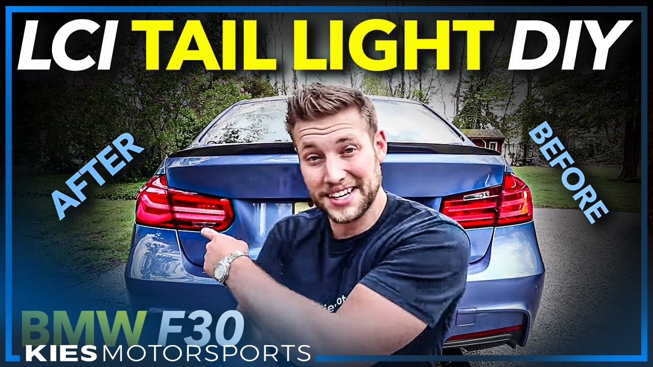 F30 BMW Depo LCI LED Tail Light Install and Review! (Easy BMW F30 Mods!)  YouTube