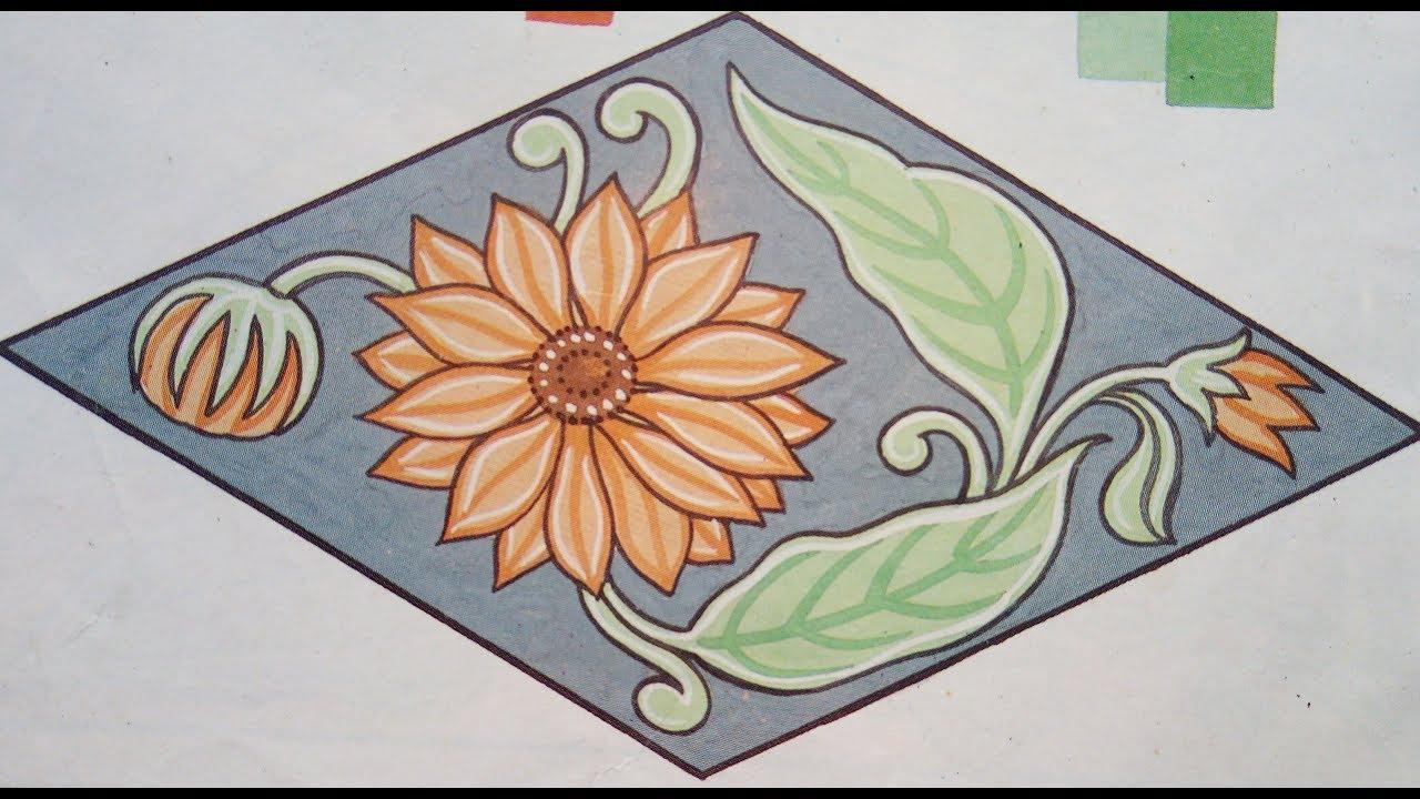 Alekhan Drawing How To Draw A Sunflower Step By Step À¤†à¤² À¤–न À¤•à¤² Youtube