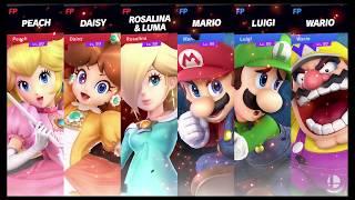 Super Smash Bros Ultimate Amiibo Fights   Request #3666 Super Mario Girls vs Boys