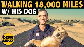 He Walked 18,000 Miles with His Dog (38 countries!)