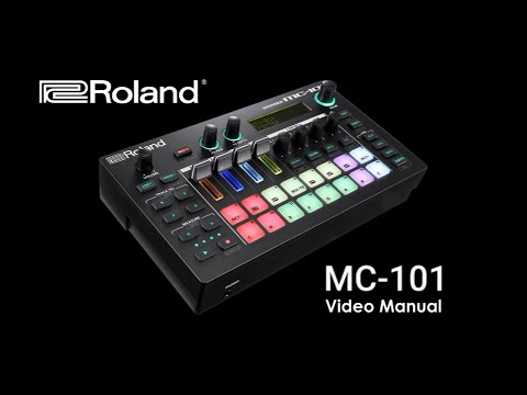 Roland's MC-101 Video Manual / Tutorials (see 2nd video for onboard Help system)