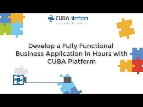 Develop a Bicycle Workshop Application within an Hour on CUBA Platform