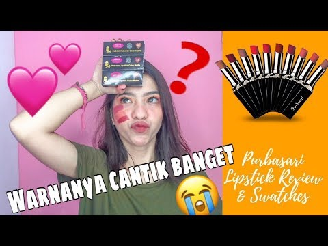 purbasari-lipstick-review-&-swatches-|-lipstik-matte-lokal-sebagus-itu??!