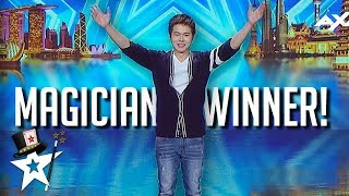 Magician Winner Eric Chien on Asia's Got Talent 2019 | All Performances | Magicians Got Talent