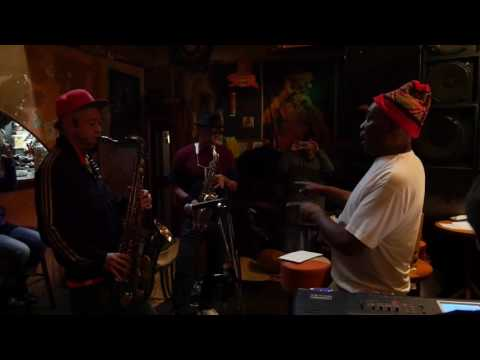 Dennis Bovell pre-production session with Japanese musician