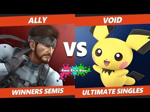 Smash Ultimate Tournament - CLG | Void (Pichu, Roy) Vs Ally (Snake) Splat Bros. SSBU WS
