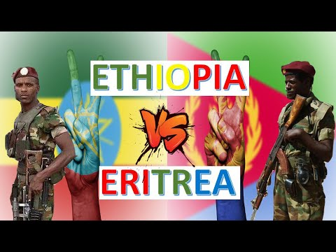 Ethiopia vs Eritrea Military Power & Economic Comparison 2020