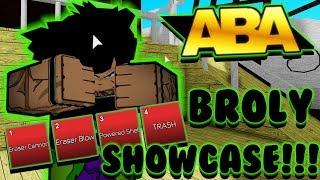 BROLY DRAGON BALL SUPER MOVIE SHOWCASE !!!!! | Anime Battle Arena