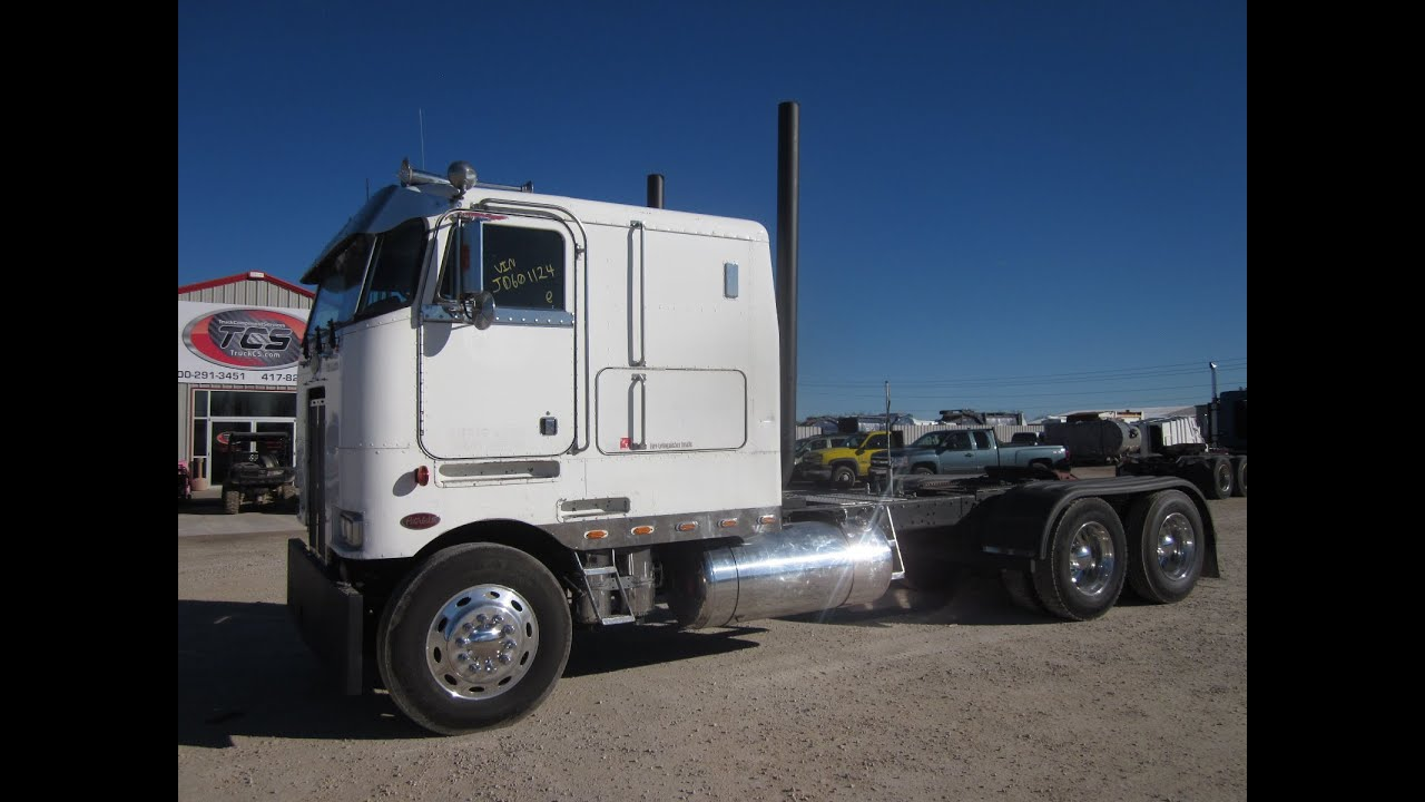 1988 Peterbilt 362 Cabover W Sleeper Youtube
