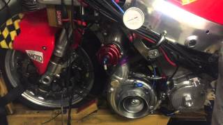 904hp from a turbo Hayabusa. A bike with the same power as a Bugatti Veyron!!