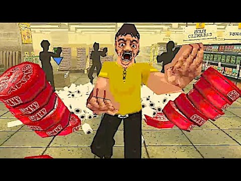 NIGHT OF THE CONSUMERS: Intense PS1 Styled Retail Horror Game Where Shoppers are VERY Persistent!