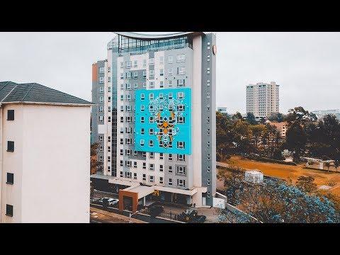 Aerial Photography for Graffiti in Nairobi, Kenya