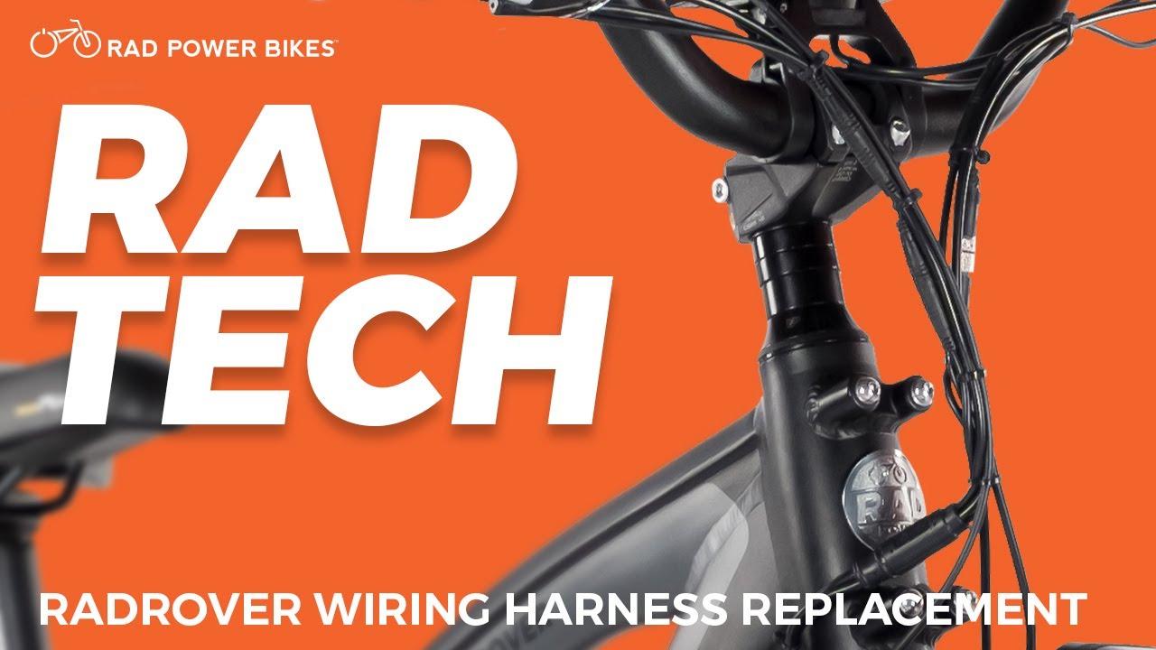 Radrover Wiring Harness Replacement Rad Power Bikes Help Center