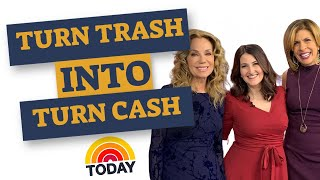 Turn Trash into Cash - Lauren's Today Show segment with Kathie Lee and Hoda