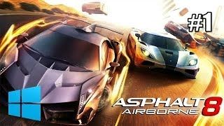 Asphalt 8 Airborne - Gameplay Windows 8